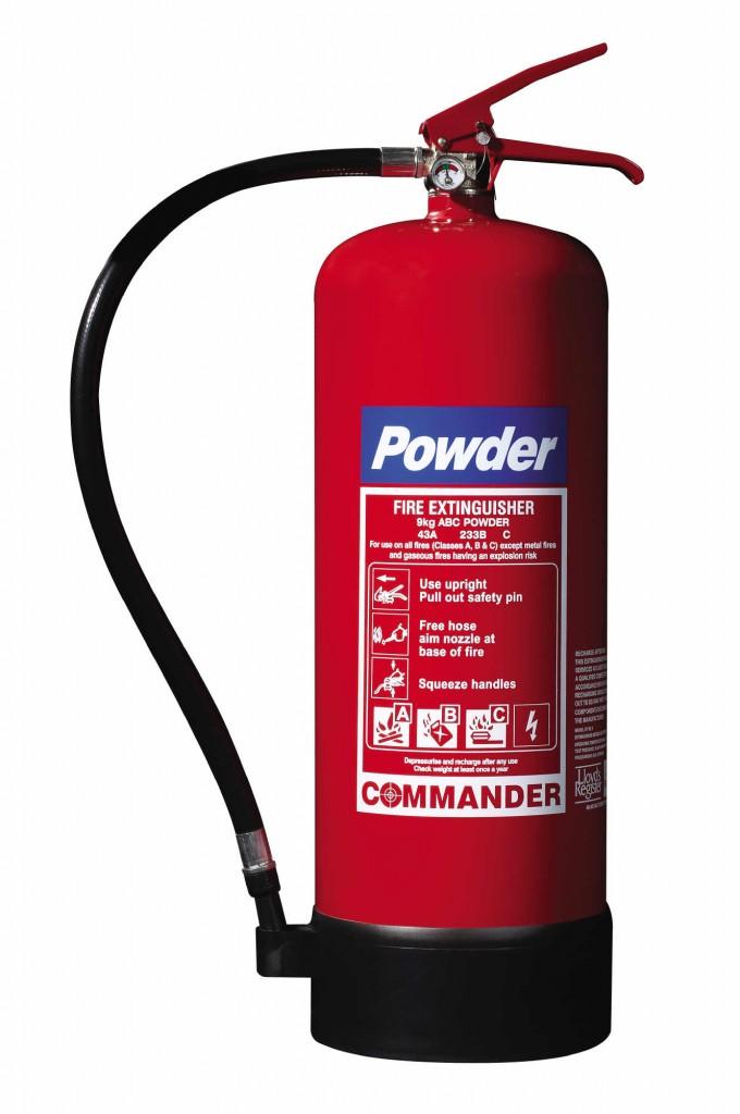 Powder extinguishers Commander DP EX9