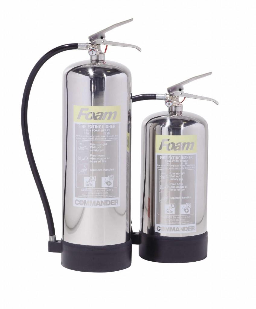 Foam extinguishers Commander FS EX SS