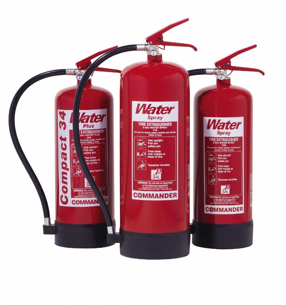 Water extinguishers Commander WS EX