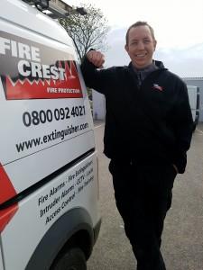 New recruit: Stefan Wooley joins Fire Crest team