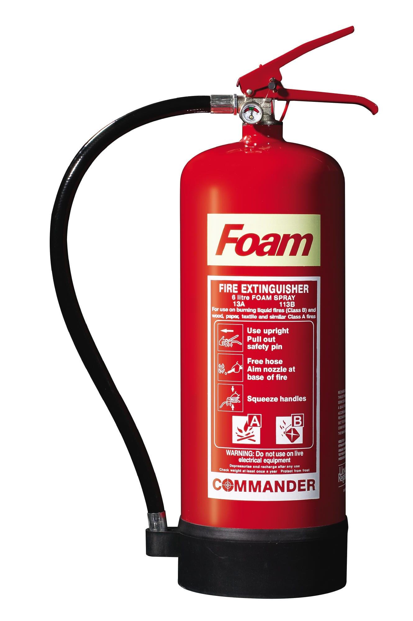 Foam extinguisher FS6E