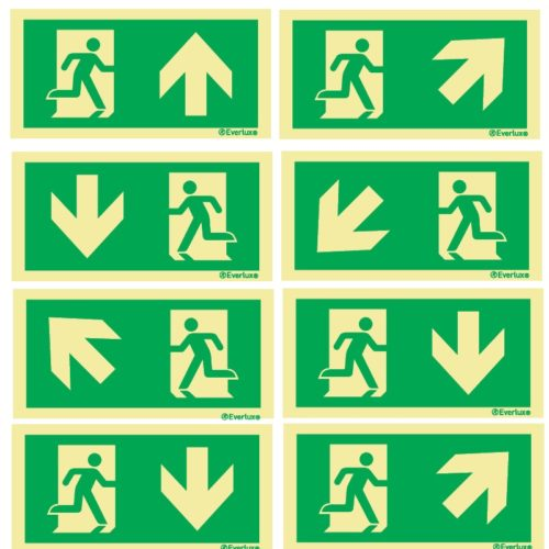 Signage - Emergency Escape route signs BS EN ISO 7010